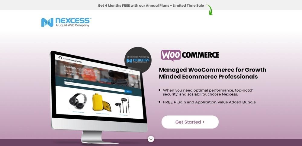 Best Hosting for WooCommerce - Nexcess