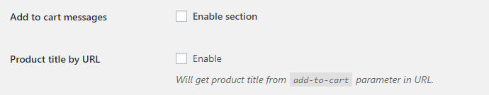 Cart Messages for WooCommerce - Add to Cart Messages Options