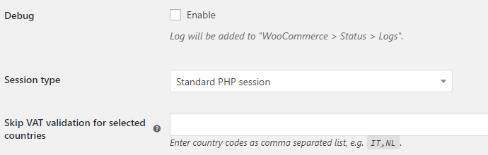 EU VAT for WooCommerce - Advanced Options