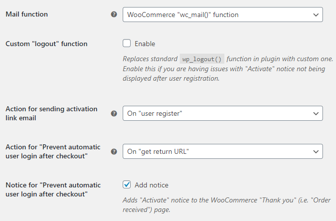Email Verification for WooCommerce - Advanced Options