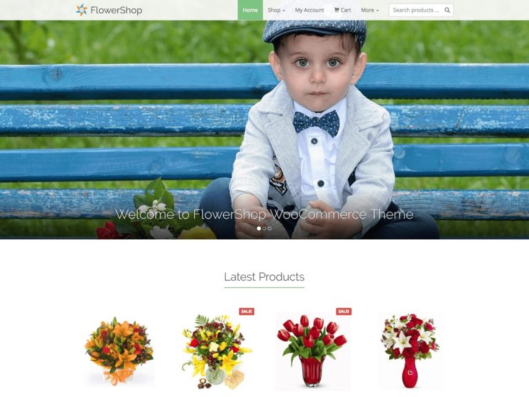 FlowerShop – Theme for WooCommerce