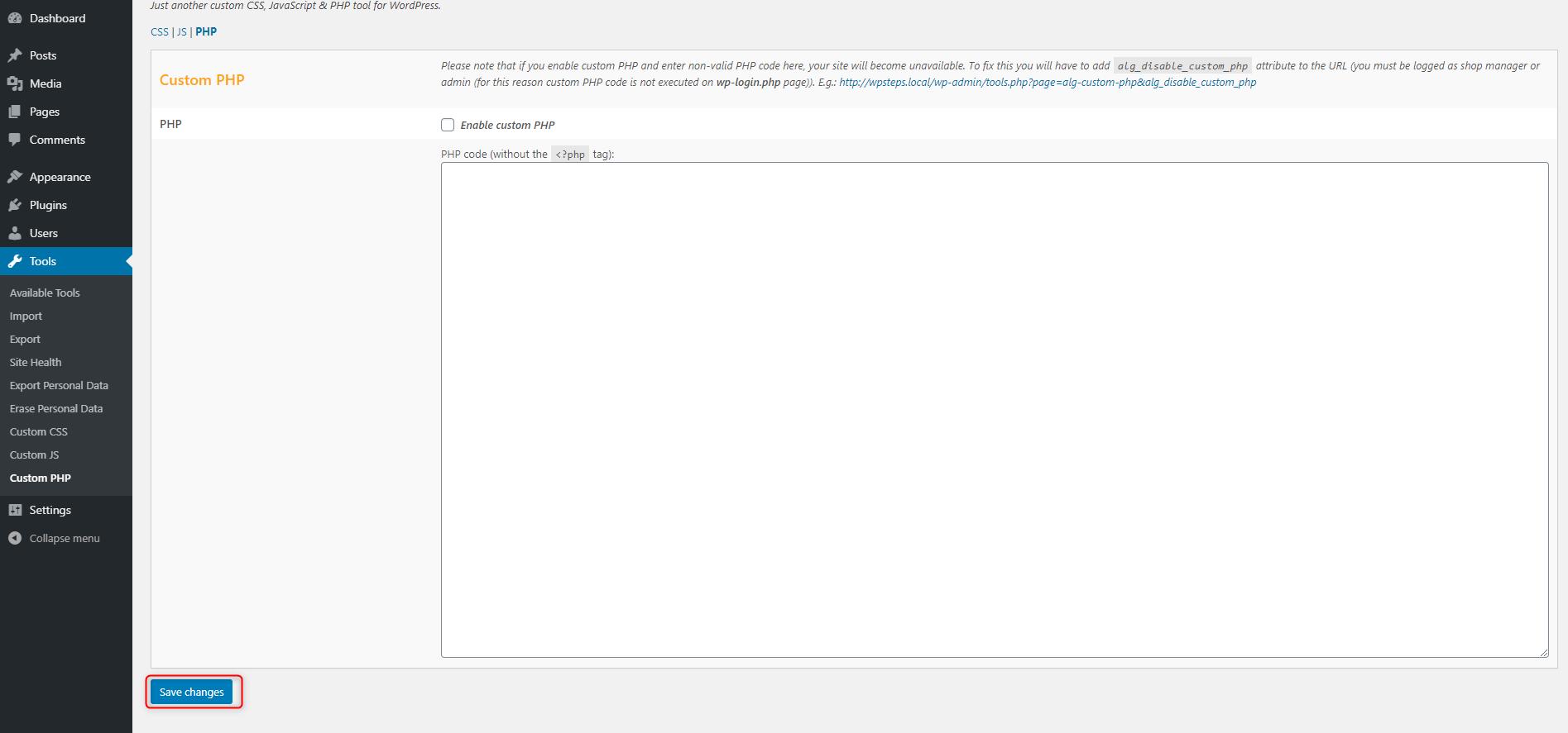How to Add Custom PHP Code in WordPress - Custom PHP code