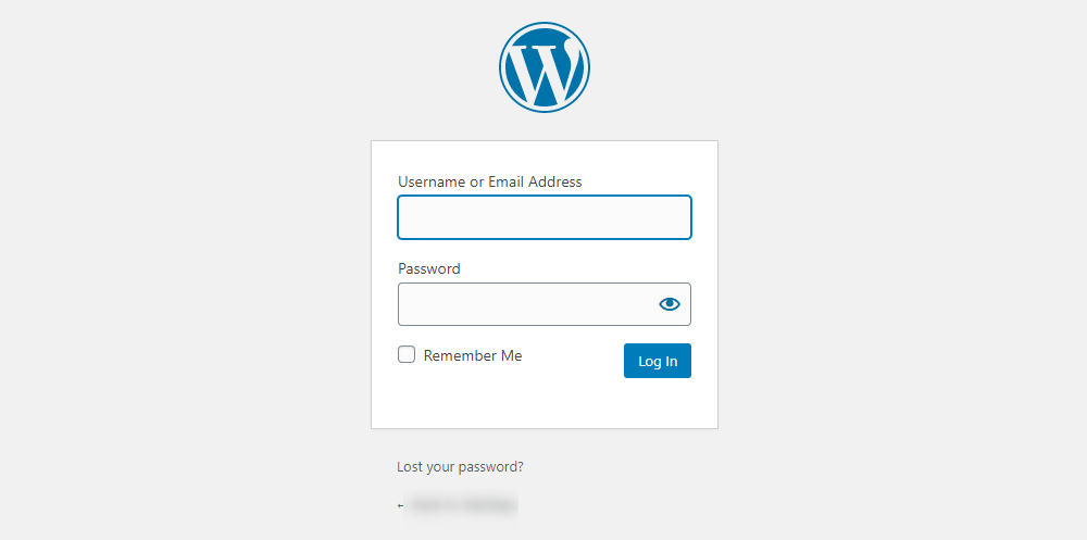 How to Add Custom PHP Code in WordPress - Log in to your dashboard