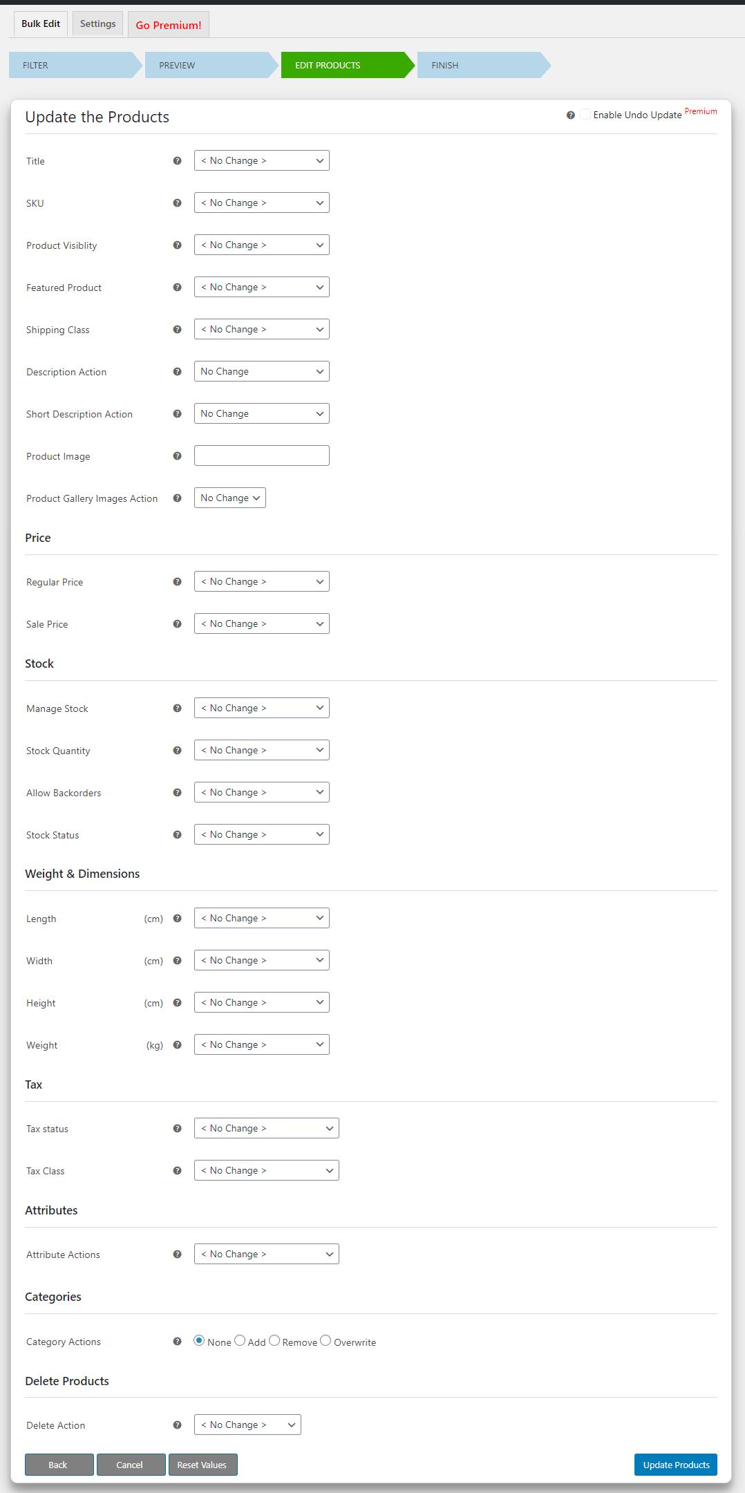 How to Bulk Edit WooCommerce Products - Elex WooCommerce Advanced Bulk Edit - Edit products