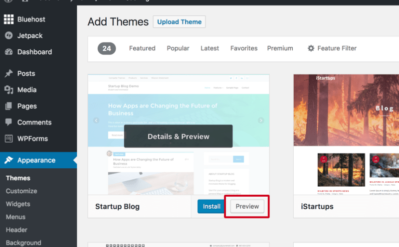How to Choose a WordPress Theme You Will Love - Test it Out