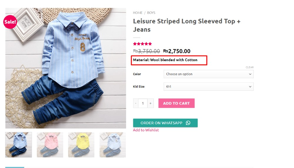How to Customize the Add to Cart Button in WooCommerce - Adding text above the button