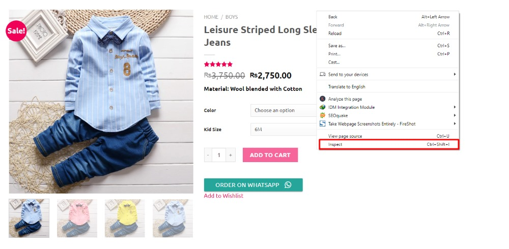 How to Customize the Add to Cart Button in WooCommerce - Changing the color of the button