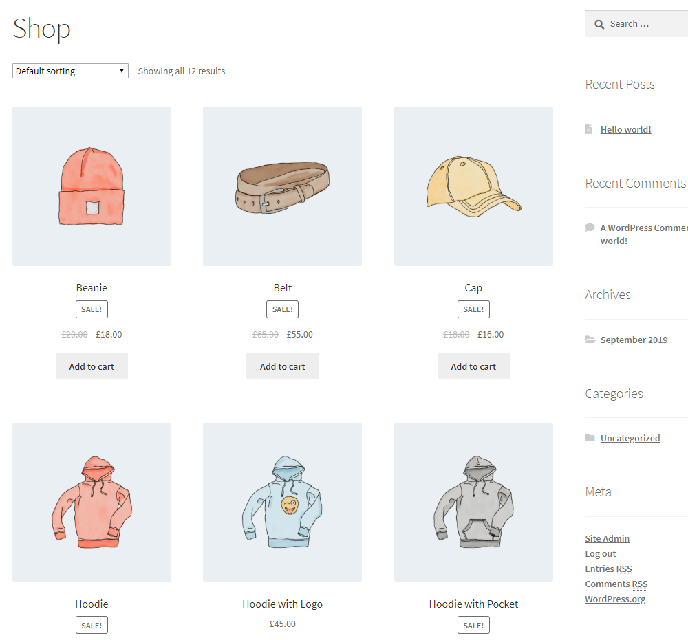 How to Get Started with WooCommerce - Setting up a product - Shop