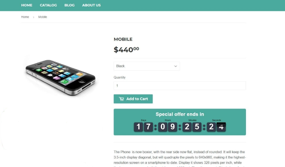 How to Use Scarcity in Your E-commerce Store - Use countdown timers during sales