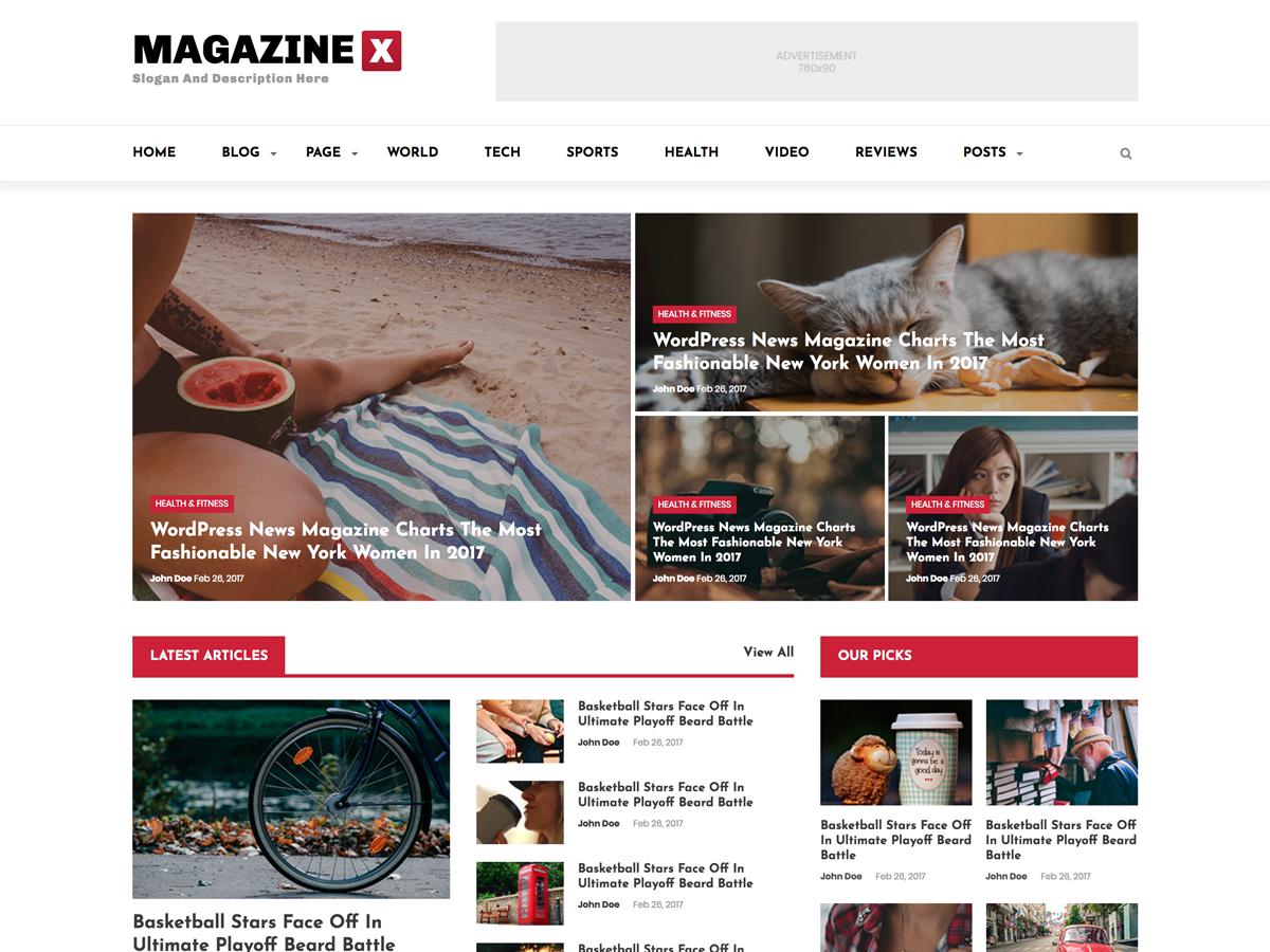 Magazine O - WordPress Theme - WPFactory