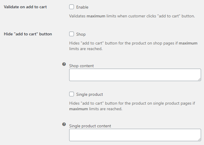Order Minimum Maximum Amount for WooCommerce - Maximum Amount Limit Options
