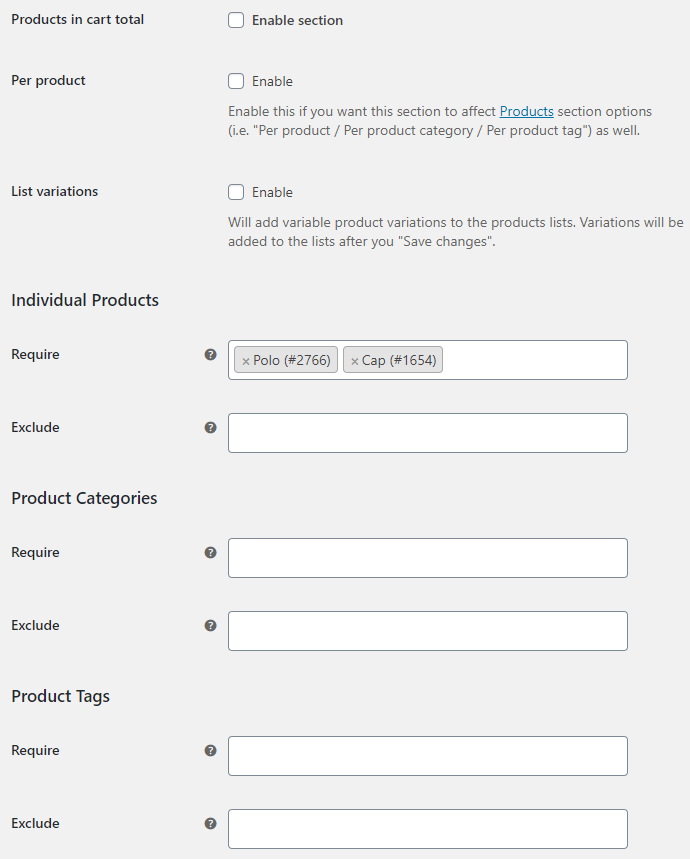 Order Minimum Maximum Amount for WooCommerce - Cart Total Options