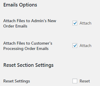 Product Input Fields for WooCommerce - Email Options