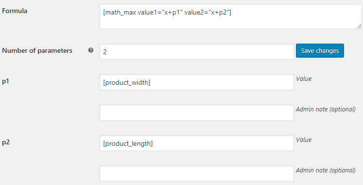 Product Price by Formula for WooCommerce - Default Formula Settings