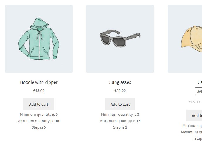 Product Quantity for WooCommerce - Quantity Info - Frontend