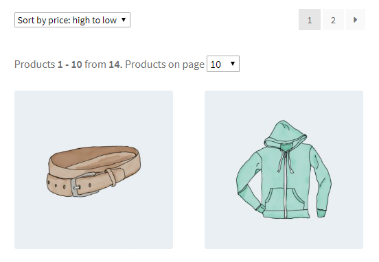 Products per Page for WooCommerce - Frontend