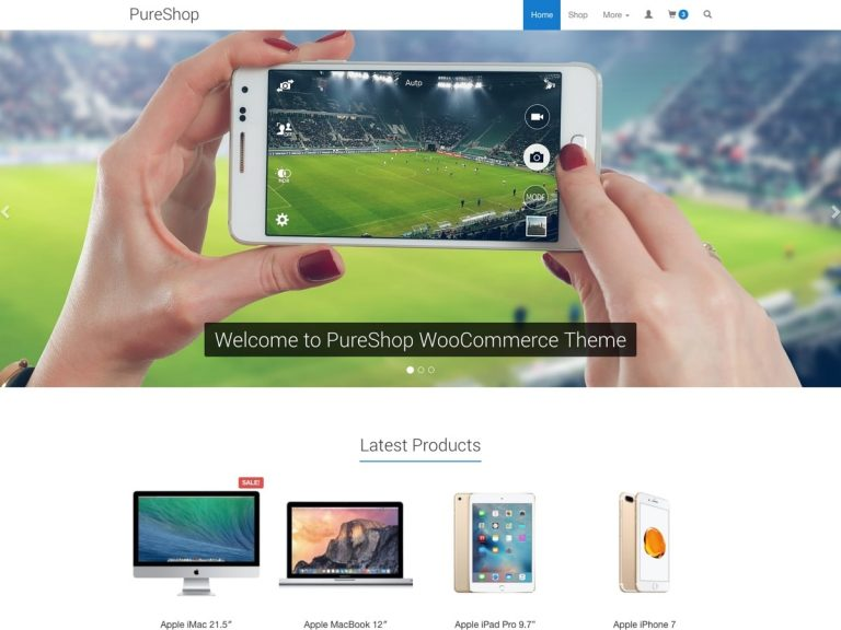 PureShop – Theme for WooCommerce
