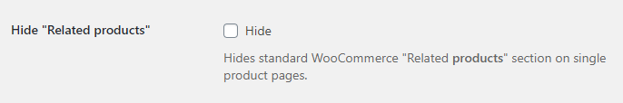 Related Categories for WooCommerce - Advanced Options