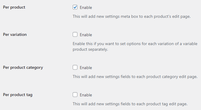 Wholesale Pricing for WooCommerce - General - Settings